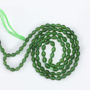 تسبیح شاه مقصود اصل افغان درجه یک رنگ سبز خوشرنگ کد 1077