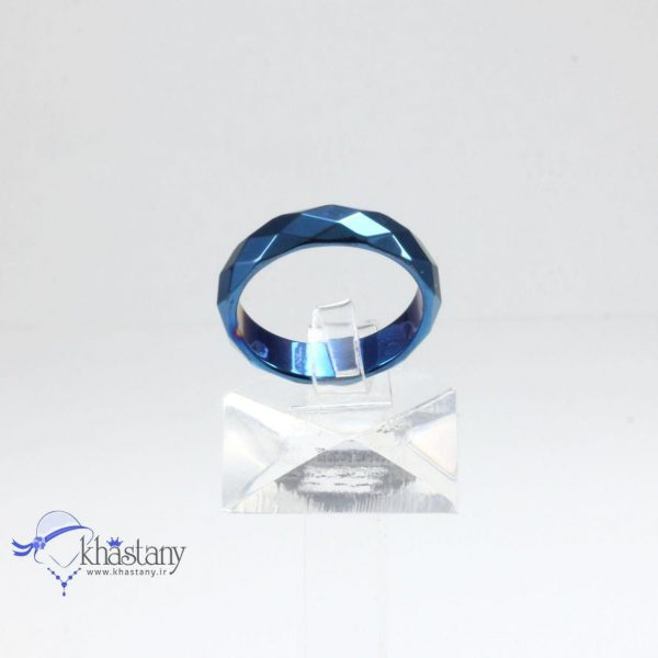 حلقه تمام سنگ حدید تراش کد 1081
